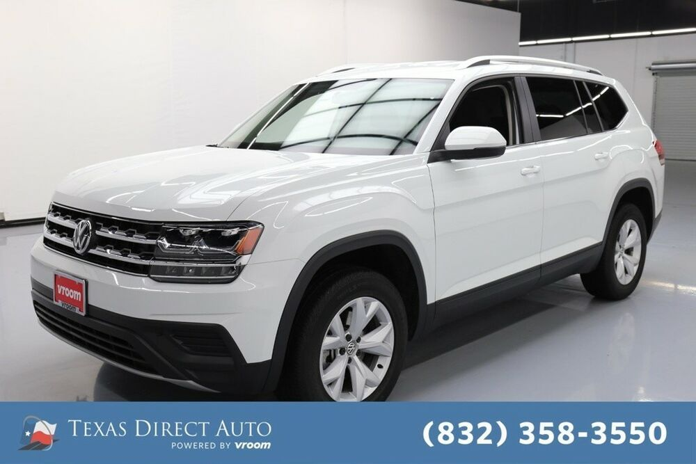 For Sale 2018 Volkswagen Atlas 3.6L V6 S Texas Direct