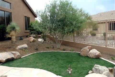 Little Grass Desert Landscape Backyard Ideas Bing Images