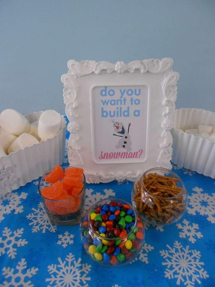 Disney Christmas Party Ideas Part - 44: Disney Frozen--Winter Wonderland Birthday Party Ideas