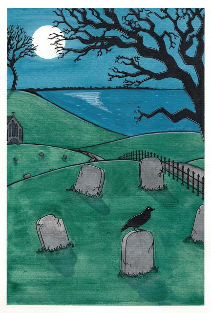 desenho do dia 101 cemitério soraia casal desafio 365 365