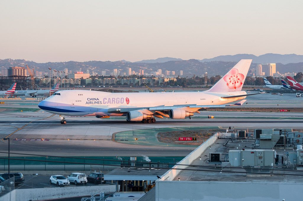 China Airlines Cargo 747409/F arriving at LAX_20170925