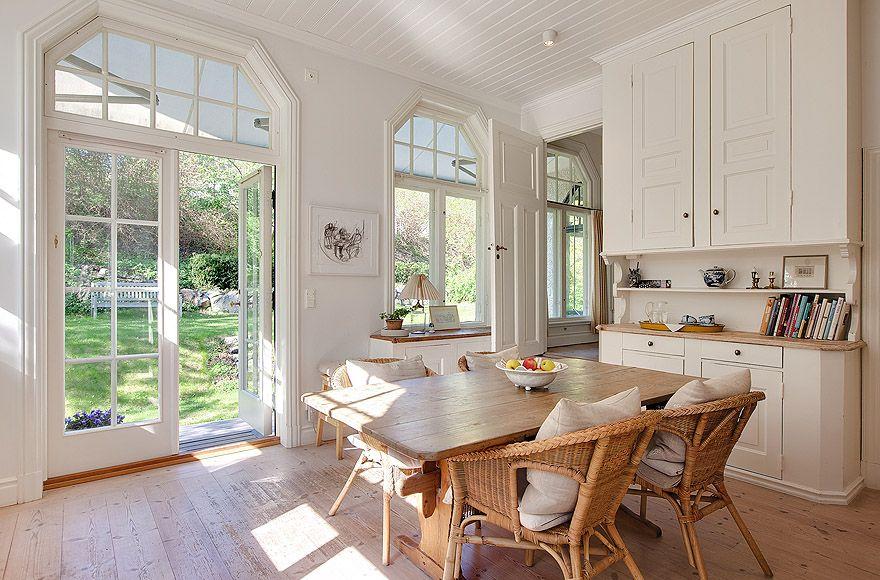 White Villa In Sweden Interior Design Ideas Home Decorating Ideas