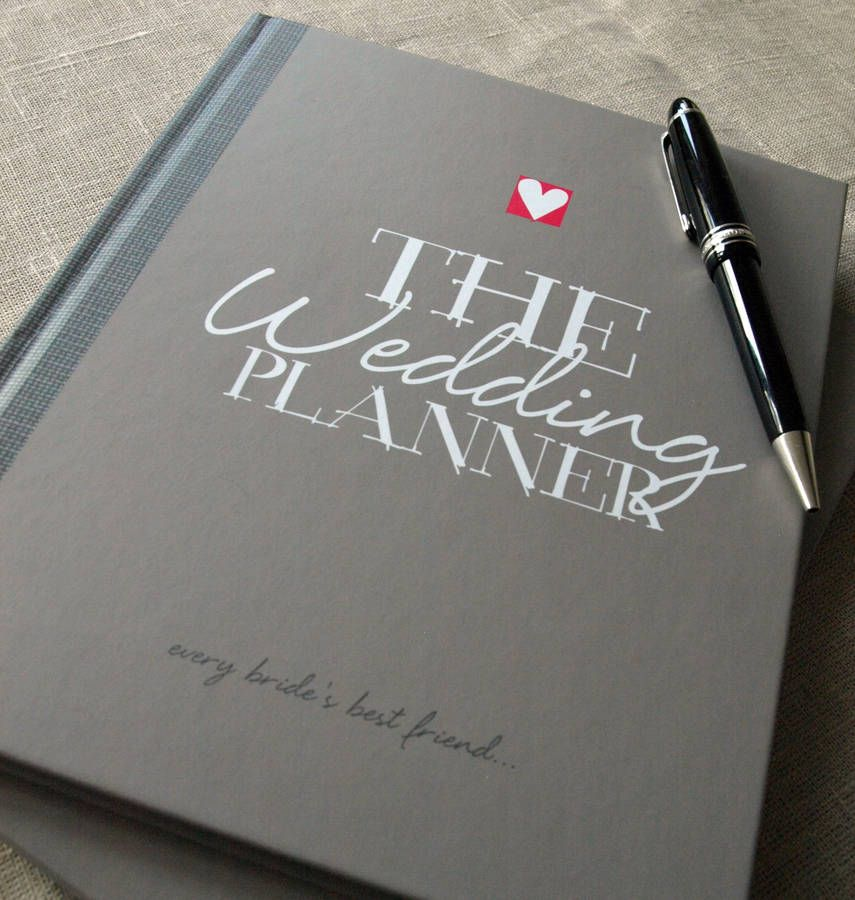 Wedding Planner Notebook And Journal | Wedding planner ...