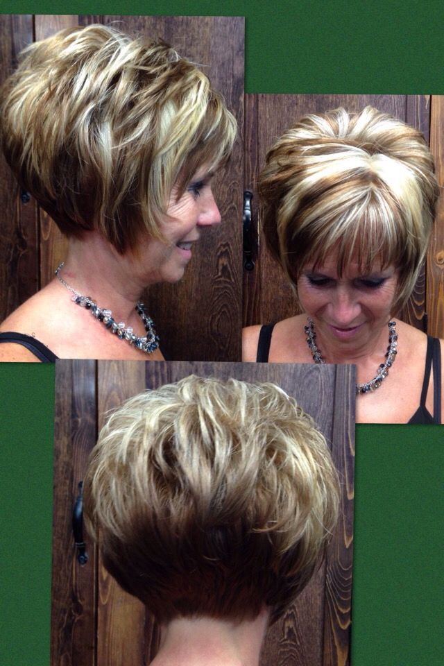 how much is a haircut fall hilites stacked bob chunky hilites my style 1719