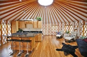 Here are a few yurt home decorating ideas you can use to