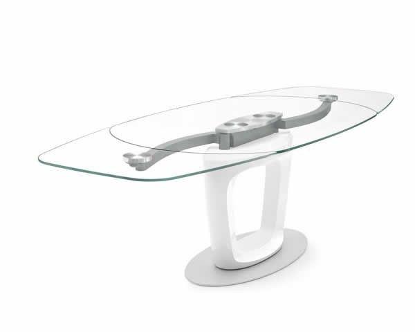 Tavolo Calligaris Vetro Trasparente.Tavoli Calligaris Di Cristallo Tutto Il Design Per Il Tuo Living