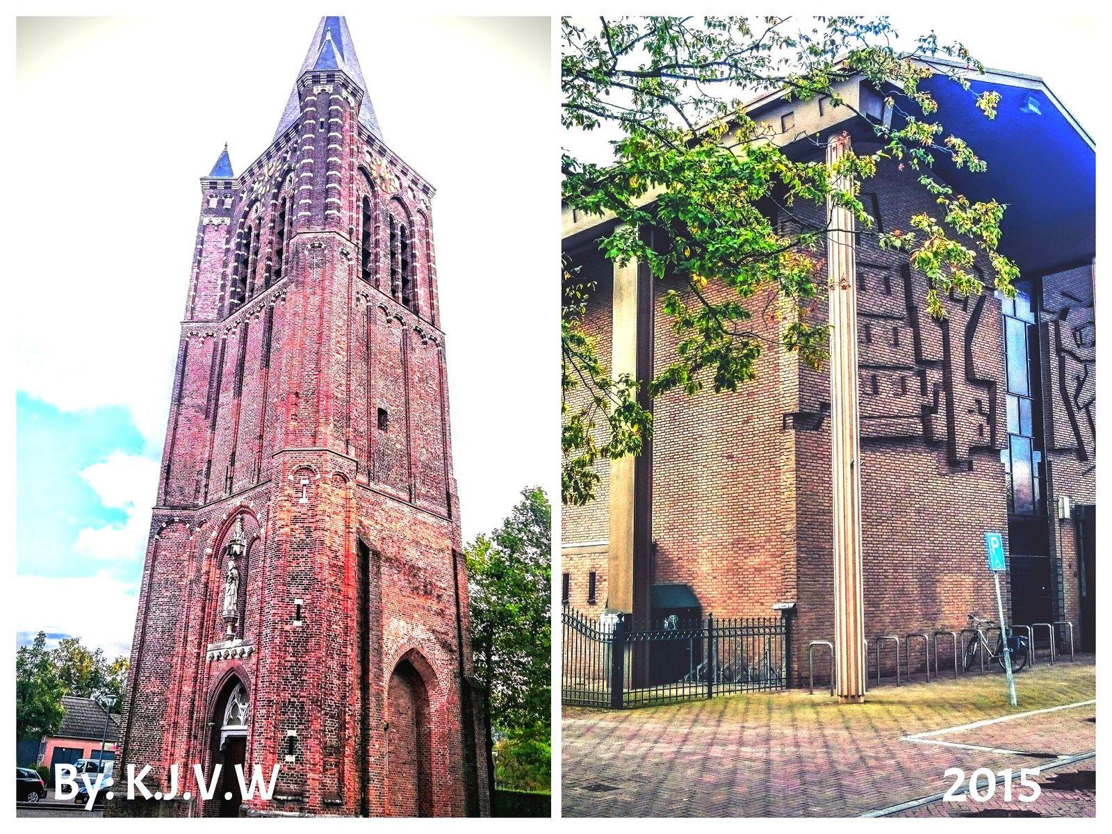 https://flic.kr/p/yErojJ   Old&New  (Old Church Tower  &  New Church Building) -Son  (By:K.J.V.W 2015)
