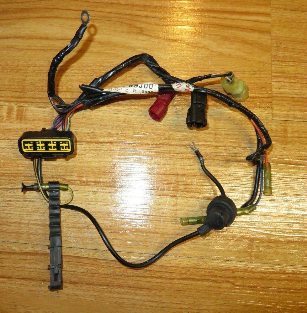 small resolution of 25 30 hp suzuki outboard 4 stroke wiring harness type q model 36610 89j00