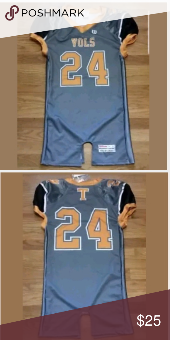 best website f7879 1f0f3 Tennessee Volunteers Football Jersey Medium Wilson Men's M ...