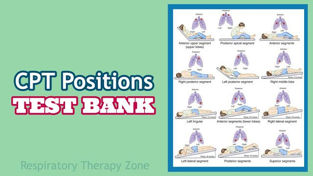 Chest Physiotherapy Cpt Positions Practice Questions