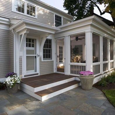 New House Screened Porch Designs Porch Design House Exterior
