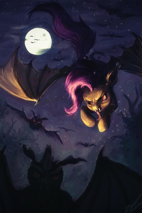 A Bat Bat Pony By Assasinmonkeydeviantartcom On At Deviantart My