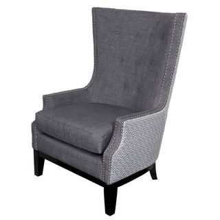 Perfect Shop For Porter Draper Lilian Tufted Nailhead Trim High Wing Back Accent  Chairu2026