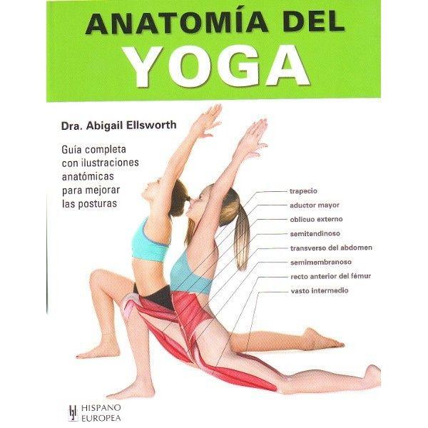 Anatomía del yoga, por Abigail Ellsworth. Editorial Hispano Europea ...