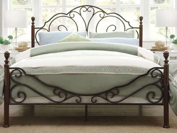 Metal Bed Frames how to paint a metal bed frame | metal beds, bed frames and metals
