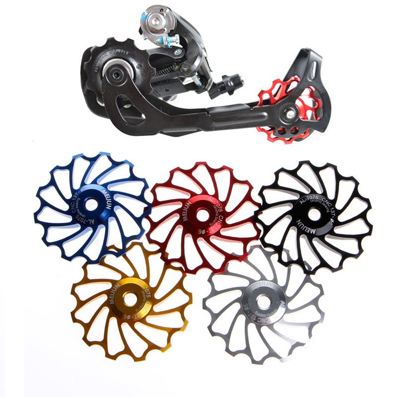 Derailleur Bearing Rear Pulley Jockey Wheel Bike Bicycle Ceramic Useful