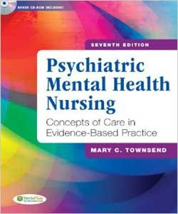 Psychiatric Mental Health Nursing 7th Edition Mary Townsend