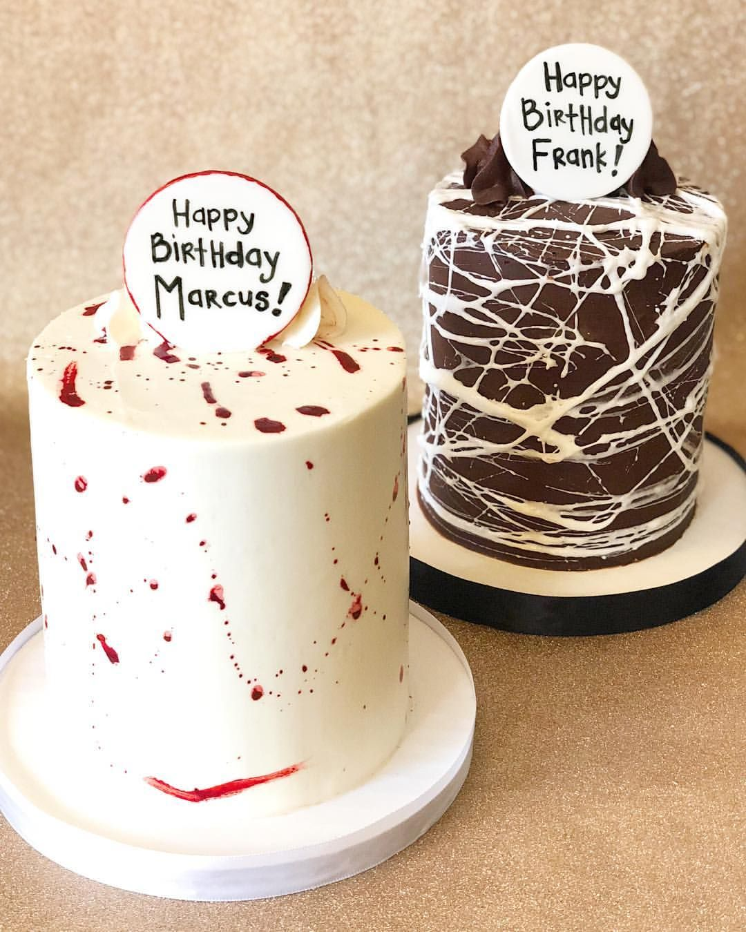 Brilliant Halloween Birthday Cake Mini Birthday Cakes Spooky Season Funny Birthday Cards Online Inifofree Goldxyz