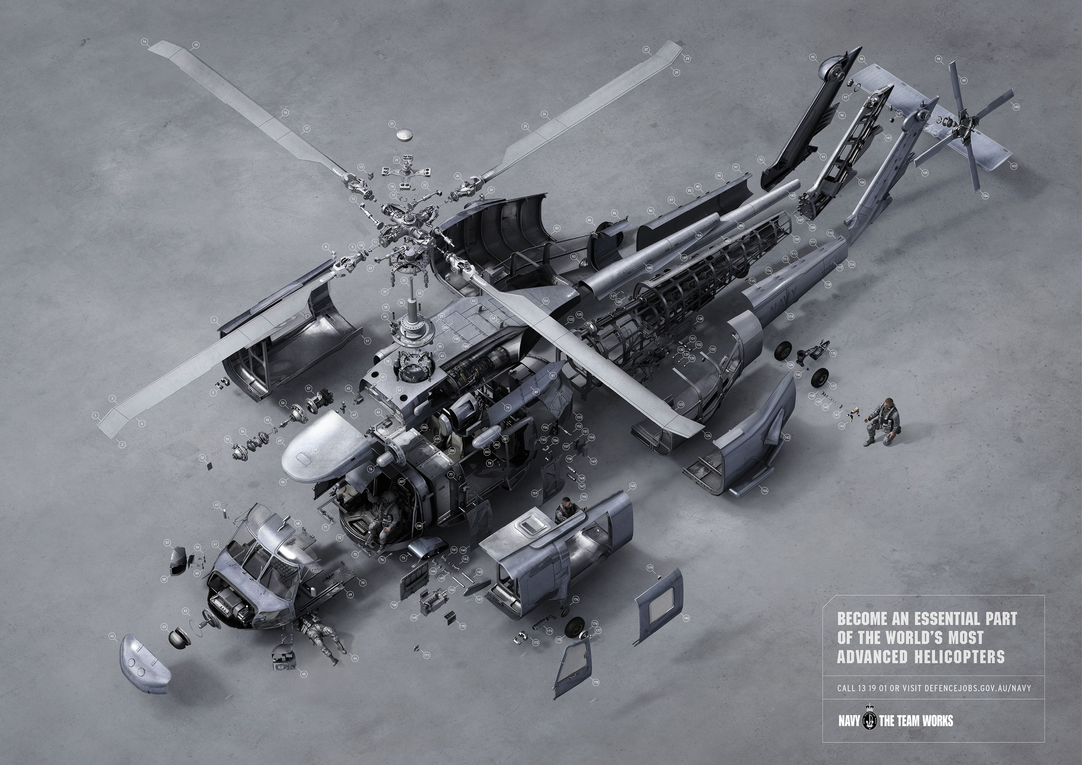 """GPY Melbourne - """"Do you fit?"""" campaign for Australian Defence Force"""