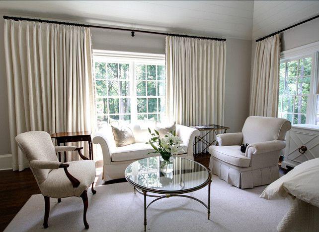 Sitting #Area New House Pinterest Familienwohnungen, Design - vorhänge im schlafzimmer