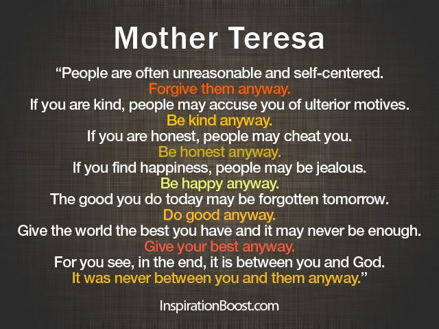Kindness Quotes Mother Teresa Google Search Words Quotes