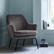 Celine Dark Grey Velvet Armchair Blue Velvet Dining Chairs Armchair Most Comfortable Office Chair