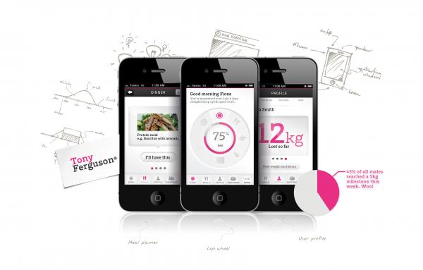 Tony Ferguson Everybody iPhone app 2013 Mobile Awards