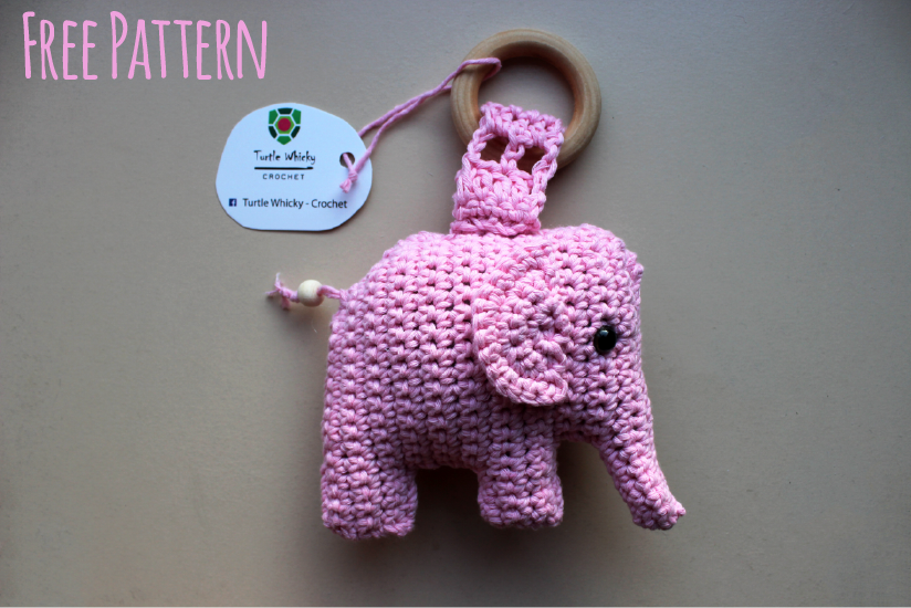 Crochet very soft and cute elephant amigurumi. This is not my ...