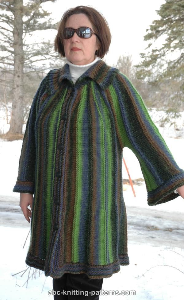 ABC Knitting Patterns - Swing Sideways Jacket | KNIT PATTERENS ...