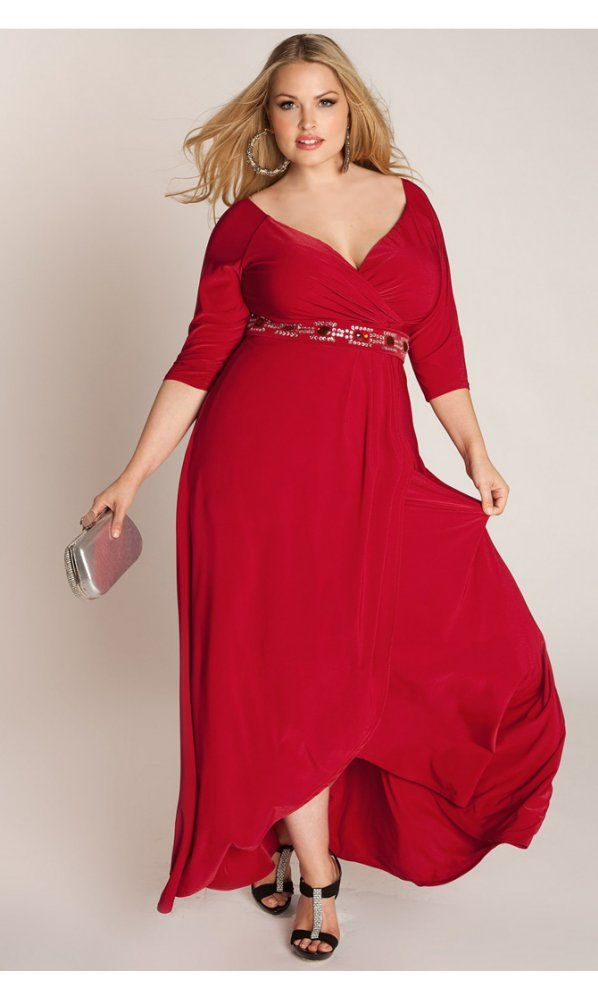 Igigi Nadine Jeweled Plus Size Gown In Red | Fashion Ideas ...