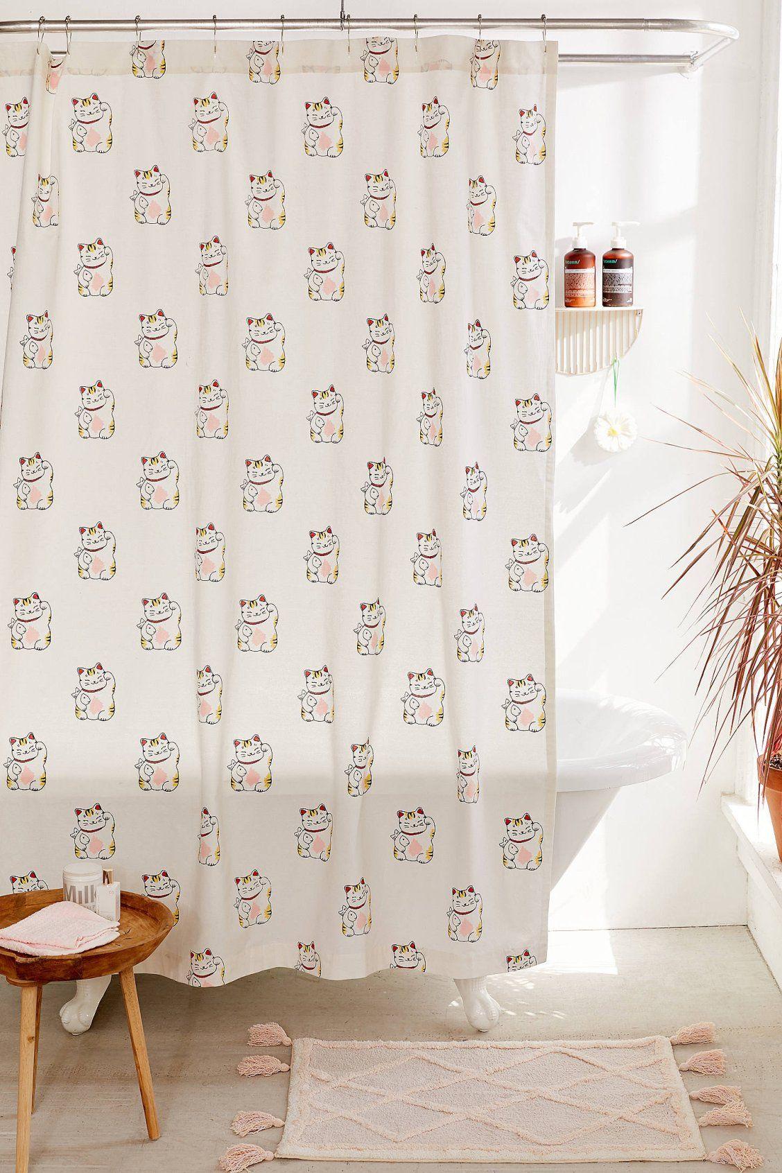 Shower Curtain Liner Cat Shower Curtain Trending Decor Urban