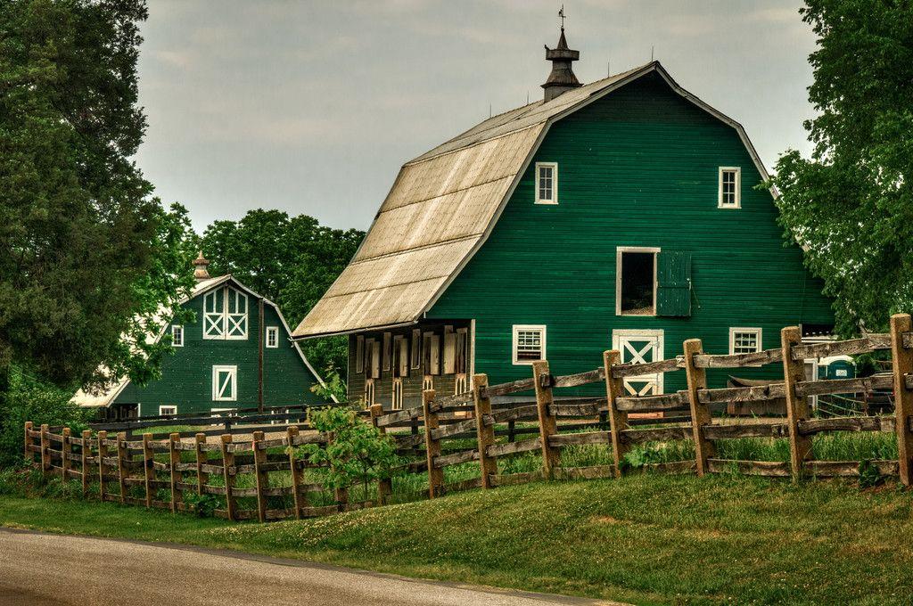Stables in Green Barn, James Madison's Montpelier, Orange ...