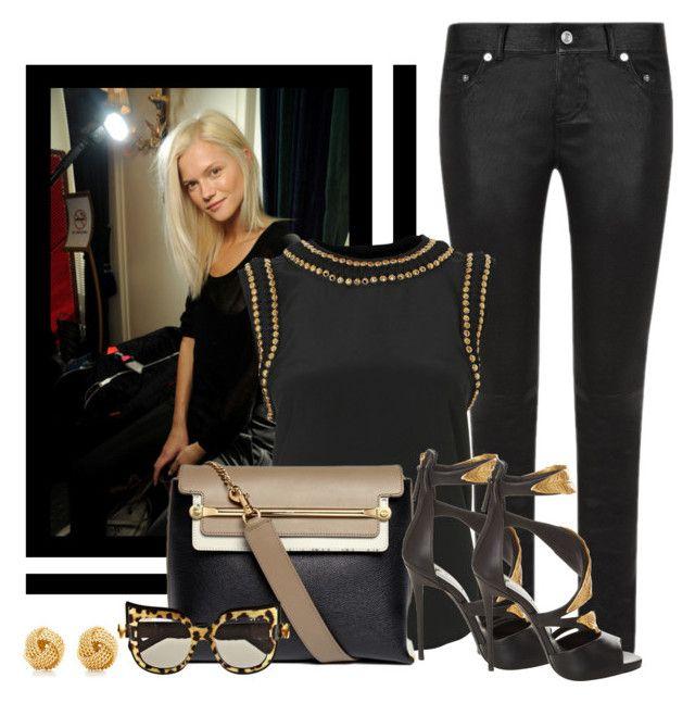 8e969313e0a Chloe  Clare  Tricolor Leather Shoulder Bag