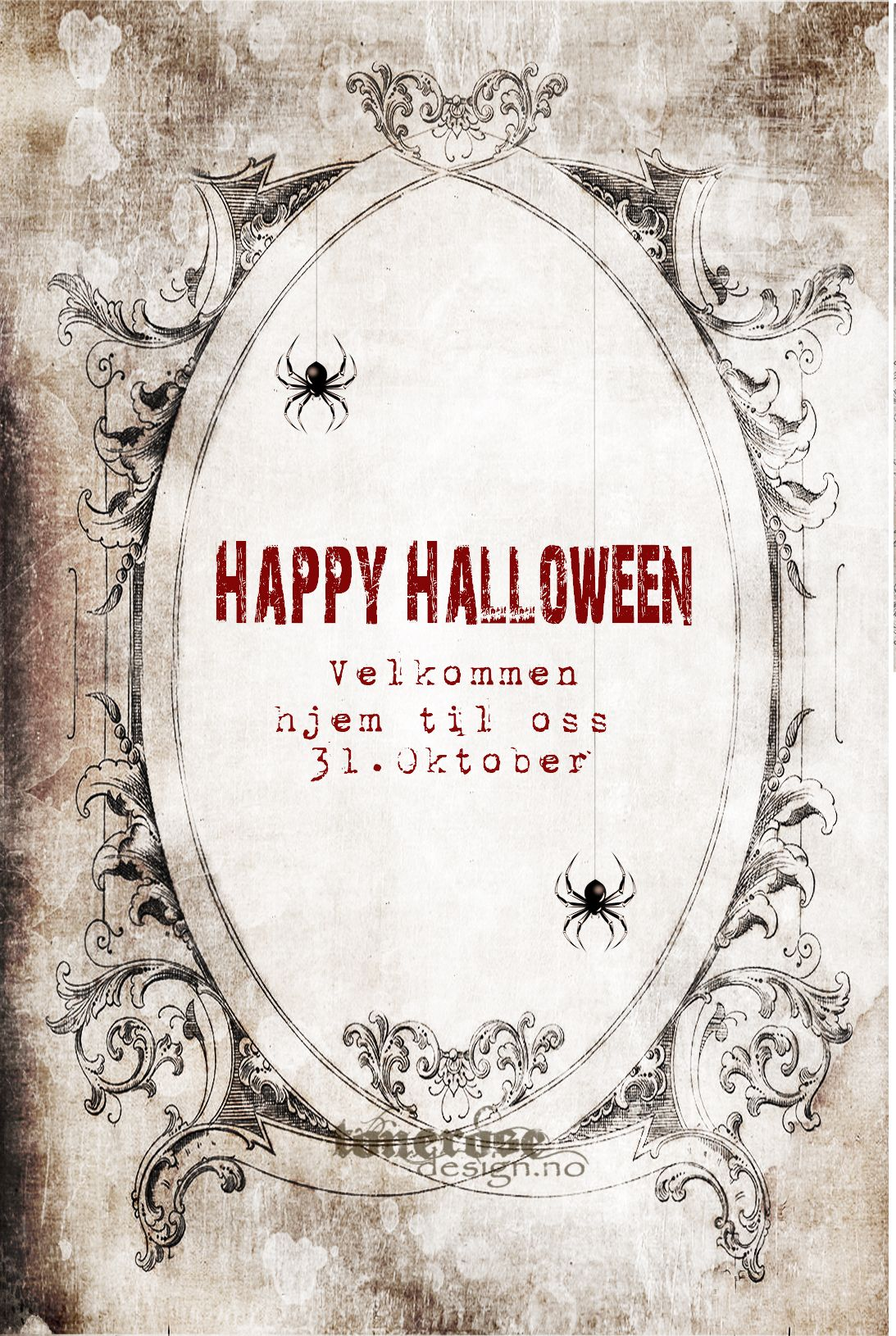 halloween invitasjon