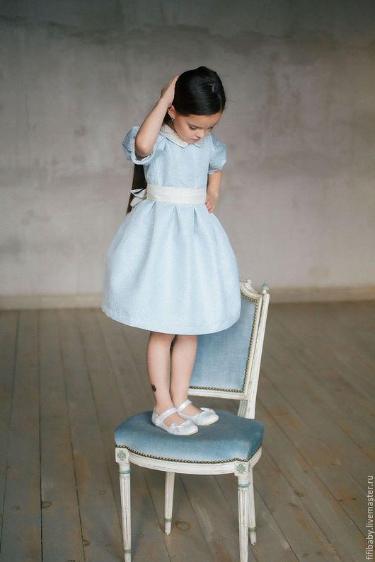 1c33af4d3bf41c2 Elegant dress for girl / Одежда для девочек, ручной работы. Ярмарка Мастеров  - ручная