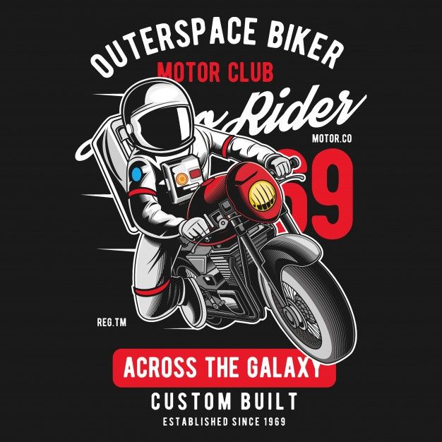 Outerspace Biker | Kreatif