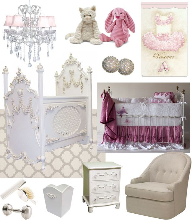 A Little Princess Nursery Design: Girl's Nursery Inspiration For Prince William And Kate's