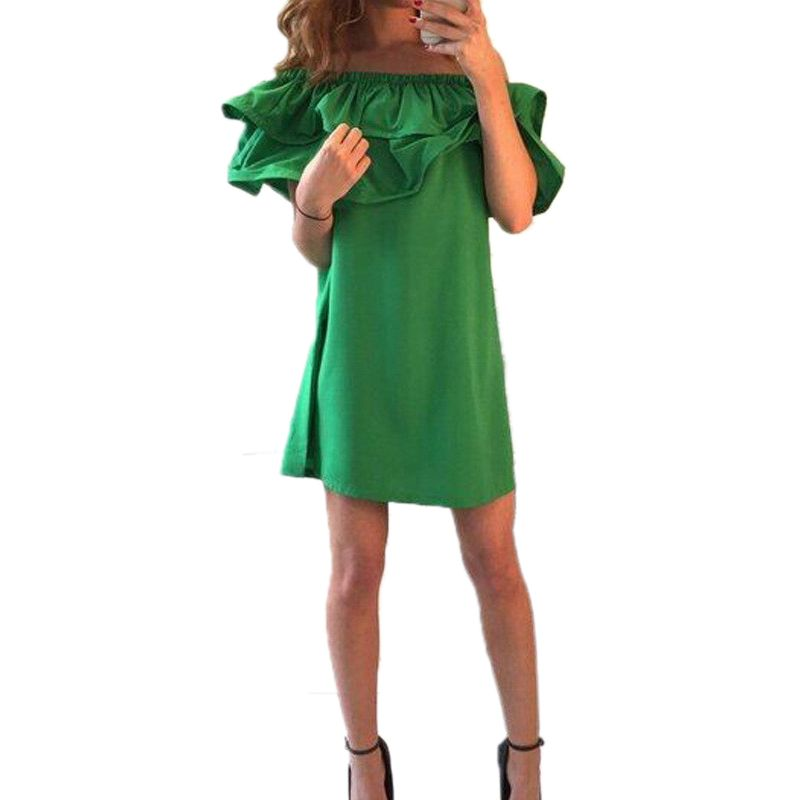 2016 Summer Women dress O-neck Sleeveless 2016 new style fashion solid casual club loose Mini Female dresses
