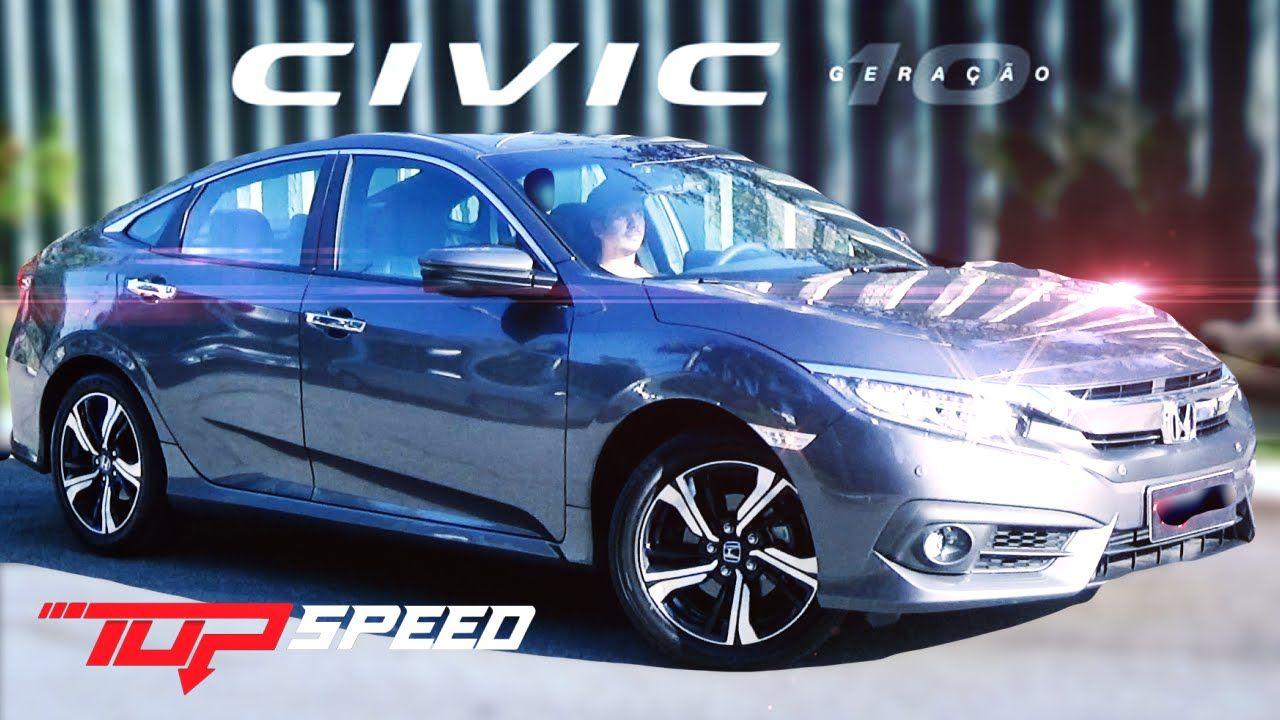 Avaliação Honda Civic Touring 1.5 Turbo 2017 Honda civic