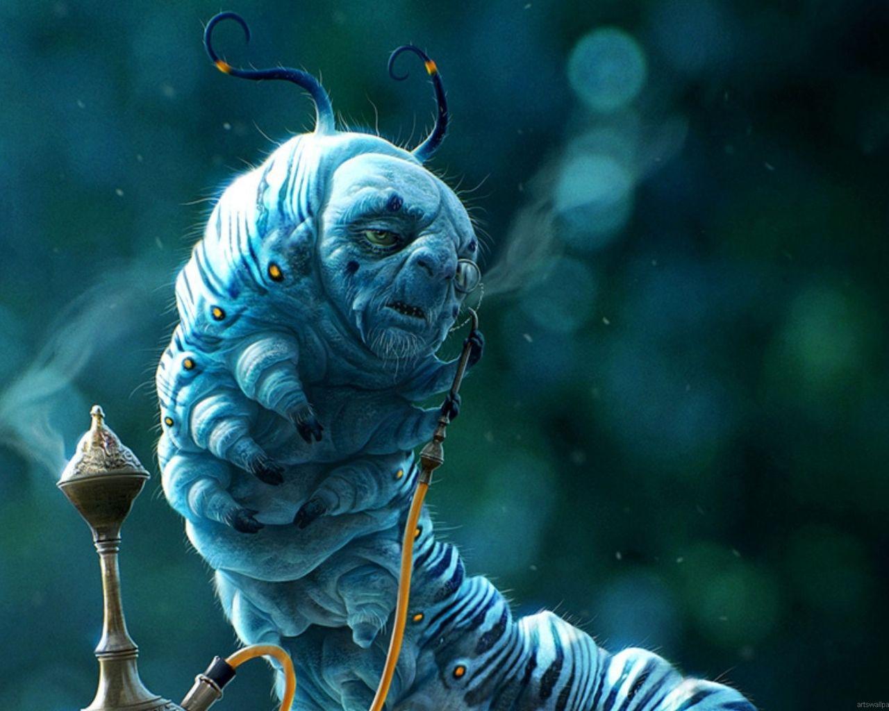 Absolem The Caterpillar From Tim Burton S Alice In Wonderl