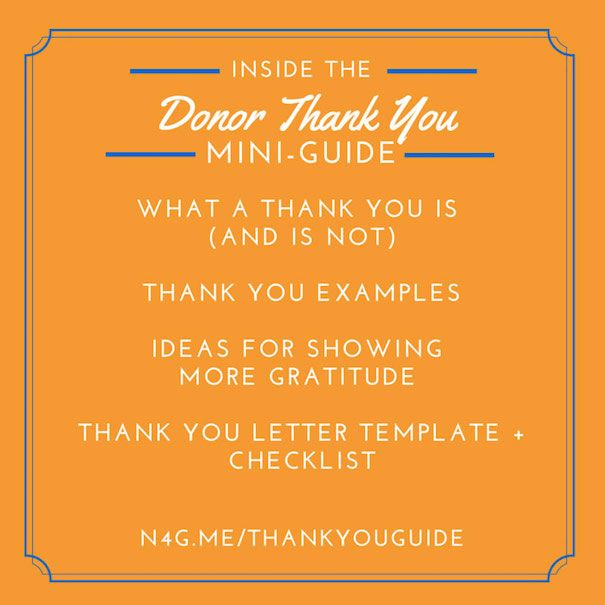 Delight Donors Thank Yous  Donor Relations Wins
