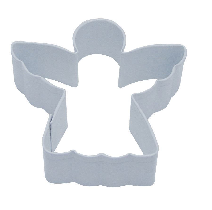 Angel Cookie Cutter White - 7.6cm (3\