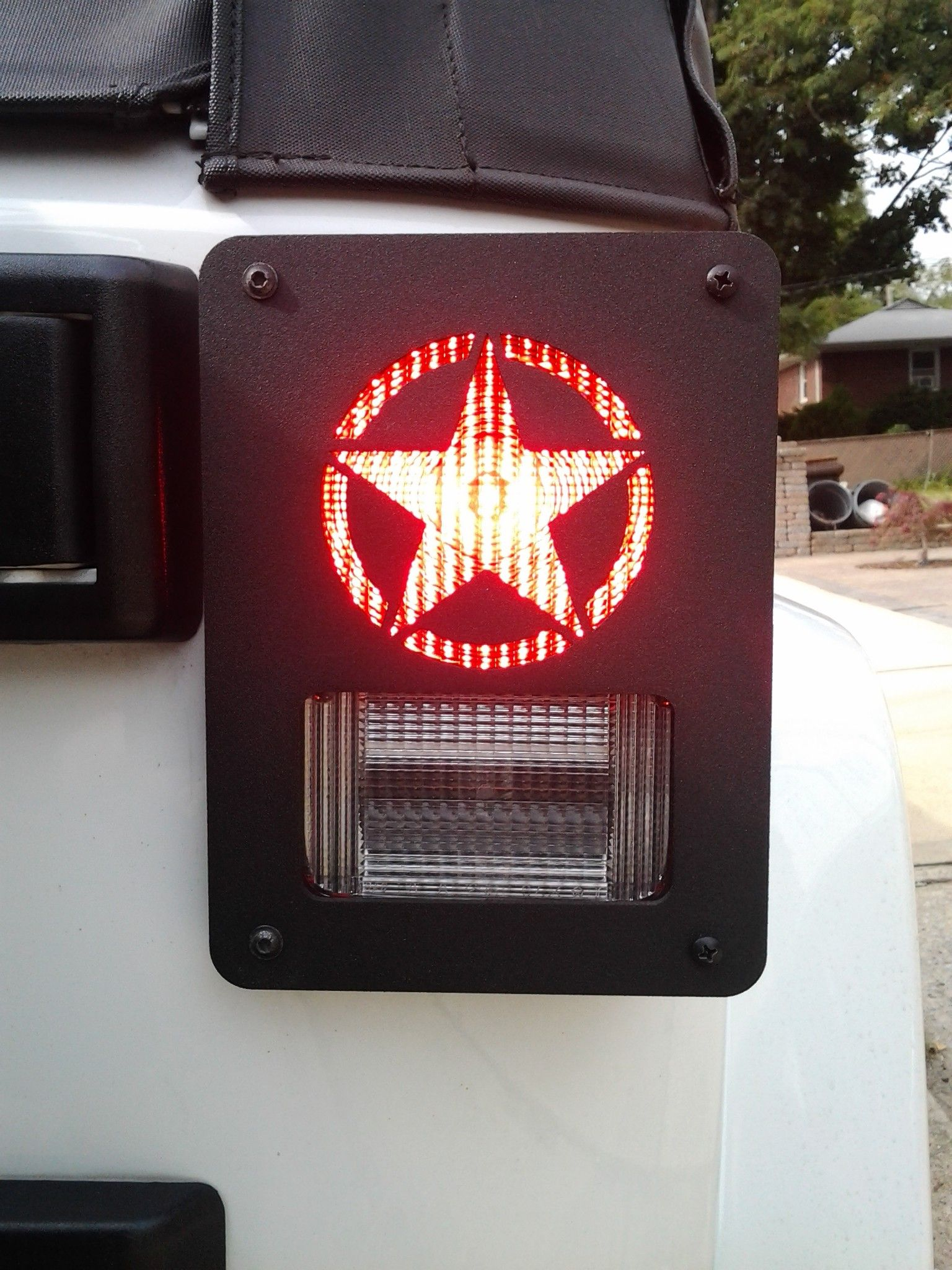 """MILITARY STAR"" JEEP WRANGLER JK (2006CURRENT) TAIL LIGHT"