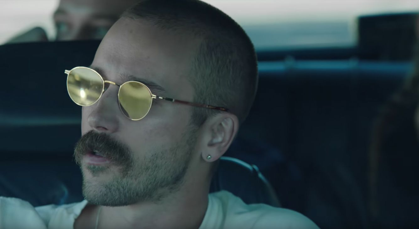 Portugal The Man S Front Man John Gourley Wears Customised Lite Tona In Their New Video Live In The Moment Mykit Mykita Portugal The Man Prescription Glasses