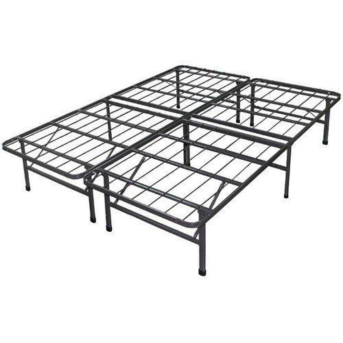 Box Spring Metal Bed Frame, Rails Queen | Box Spring Bed Frame ...