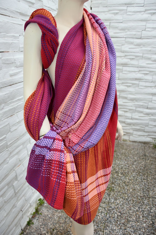 Ttbabywrap Turkish Towel Baby Wrap Hand Woven Baby Wrap Zigzag Weave