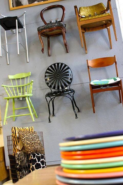 Charmant House Resale Gallery In Providence, RI. Great Consignment Shop. Chairs On  The Wall