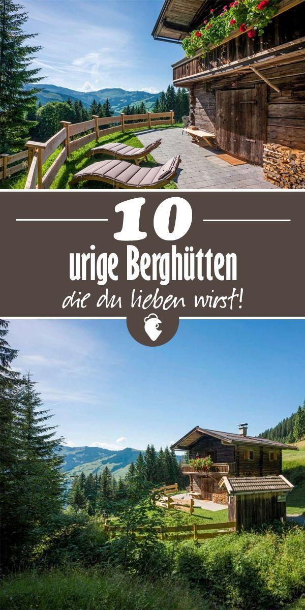 10 cabañas rústicas de montaña en Austria, Baviera e Italia