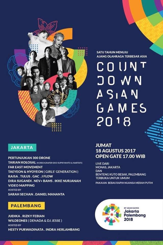 Taeyeon And Hyoyeon Will Attend The Countdown Asian Games  In Indonesia