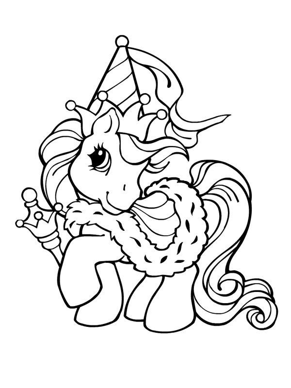Coloriage La Reine Des Petits Poneys Mon Petit Poney Coloriage Coloriage Poney Coloriage Mon Petit Poney